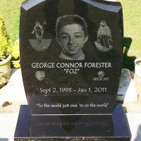 Laser Etched Granite Headstone UK - The Perfect Memorial Ltd.