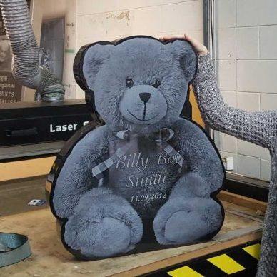 Teddy bear memorial UK